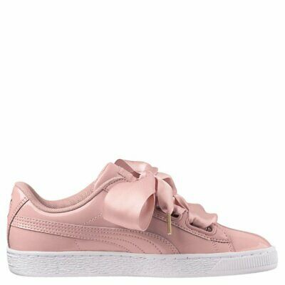PUMA BASKET HEART Patent Wns Women JR Junior Kids Shoe