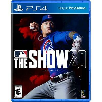 MLB The Show 20 for PS4 - PS4 exclusive - ESRB Rated E (Everyone)