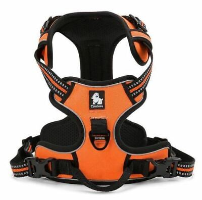 Truelove Dog Puppy Adjustable Reflective Safety Harness/Vest Anti-Pull US SELLER