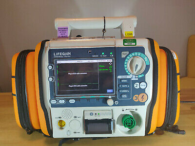 CU-HDI Lifegain AED/Monitor with Case and Accessories