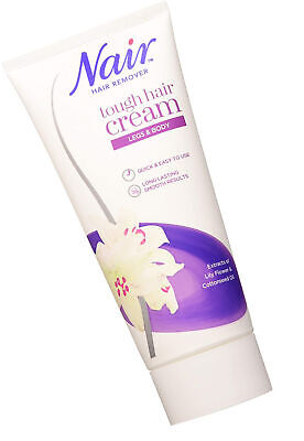 Nair Tough Hair Removal Cream For Coarse Dark Hair With Lily