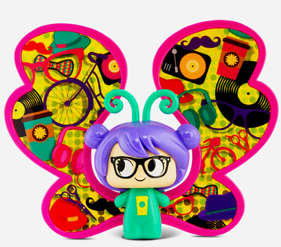 Boho Chic Snap Toys Lil Butters Social Butterflies Collectible Figures Series 02