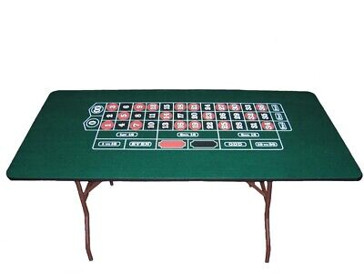60 Inch Roulette Table Made in USA by ACEM CASINO SUPPLIES