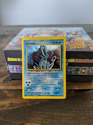 Neo Revalations Pokemon Card Suicune 14//64 Lightly Played