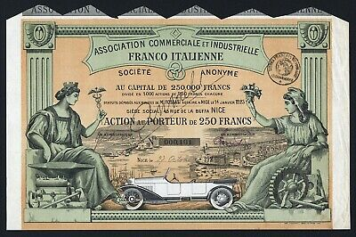 1923 France/Italy: Association Commerciale Industrielle Franco-Italienne