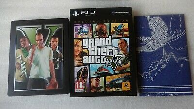 Grand Theft Auto V PS3 Special Edition + Steelbook,DLC GTA V PS3 Special Edition