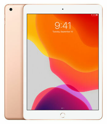 "NEW SEALED Apple iPad 7th Gen 10.2"" in Tablet 32GB Wi-fi GOLD Newest 2019"