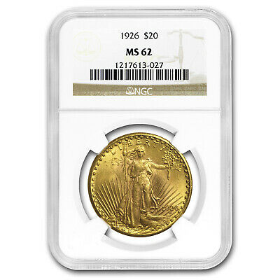 1926 $20 Saint-Gaudens Gold Double Eagle MS-62 NGC - SKU#4409