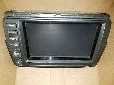 2005 2006 Acura Mdx Navigation Navi Gps System Dash Mounted Display Screen