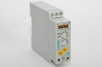 Differenzstromrelais from Fanox Type D30, Extra Narrow from, Earth Leakage Relay