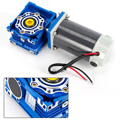 DC12V High Torque Electric DC Worm Gear Box Motor Speed Reducer 1800r/min Speed