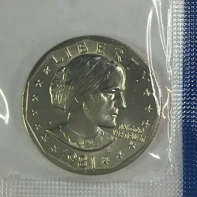 1981 P - SUSAN B ANTHONY  Uncirculated in Mint Cellophane