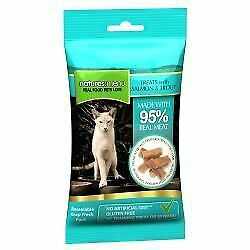 Natures Menu Real meaty Cat Treats with Salmon and Trout - 60g - 574241