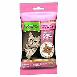 Natures Menu Real Meaty Cat Treats with Chicken and Liver - 60g - 538128