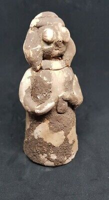 Ancient Near Eastern Terracotta Worshipper Idol 2000Bc