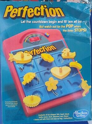Perfection Game from Hasbro 2012 Gaming Ages 4 and up NEW Sealed