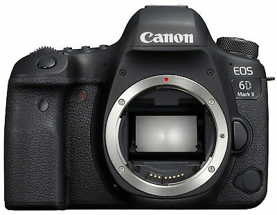 Canon EOS 6D Mark II 26.2MP Digital SLR Camera - Black (Body Only) - MINT