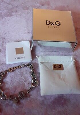 Genuine D&G Bracelet In Original Box With Pouch Bag And Hologram Guarantee.