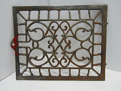 Old Antique Farm House Floor Wall Return Registure Grate Vent