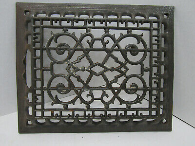 B Old Antique Farm House Floor Wall Return Registure Grate Vent