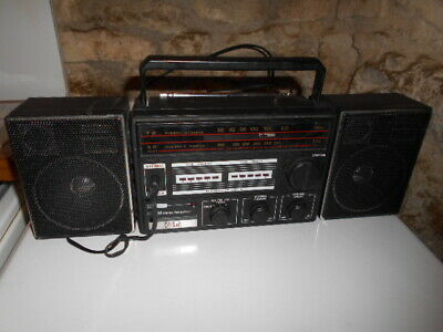 Ancienne radio vintage stereo Clip Sonic années 80