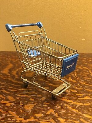 "Walmart Museum Visitor Center Grocery Shopping Cart Replica 5.5"" Small Mini - M"