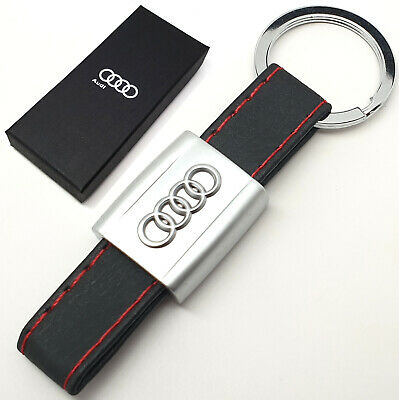 AUDI Blind etched Key Ring Etched and A 1 2 3 4 5 6 7 8 Q RS TT
