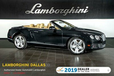 2012 Bentley Continental GTC  W12+SPARE+RR CAM+NAV+POLISHED WHEEL+HEATED/COOLED/MASSAGE POWER SEATS