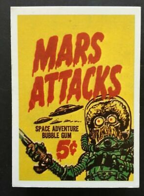 1984 Mars Attacks Galasso reprint set 56 cards PLUS 2 FREE VINTAGE CARDS