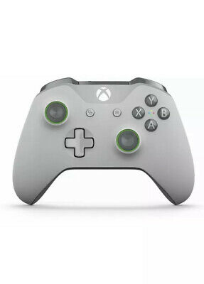 Microsoft Xbox One Wireless Controller Genuine (Gray/Green)