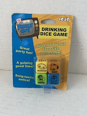 NEW Family Guy iCup Drinking Dice Game