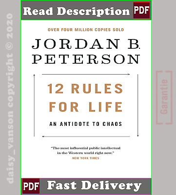 12 Rules for Life: An Antidote to Chaos by Jordan Peterson (2018,Ρ-D-Ϝ)