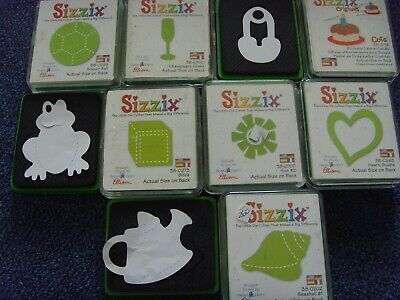 red yellow /& green rose/'s x32 sizzix die cuts