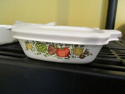 CORNING WARE Spice of Life PETITE PAN  P-41-B 1 3/4 Cup with New Cover P-43 PC