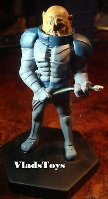 """Eaglemoss UK Doctor Who General Staal /""""the Undefeated/"""" Figurine w//Magazine #7"""