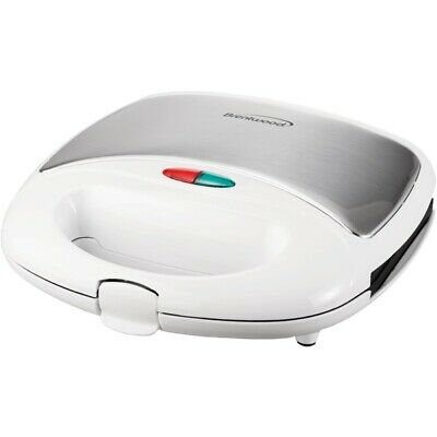 Brentwood Appliances Ts-240W Nonstick Compact Dual Sandwich Maker (White) BTWTS2