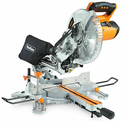 Brüder Mannesmann Precision Mitre Saw 550 mm Wood Metal Cutting Blade Tool 352