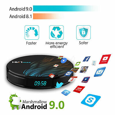 HK1 MAX Android 9.0 Smart TV Box 2 + 16G RK3328 Quad Core 4K Media Player