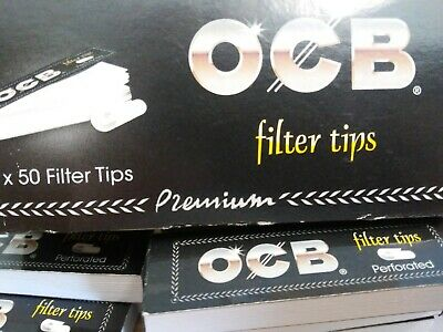 12 x 50er Heftchen OCB Filter Tips perforated perforiert #NEU# #kein Porto#