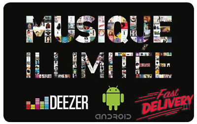 DEEZER Lifetime Android App Premium Features UNLIMITED (ANDROID ONLY)