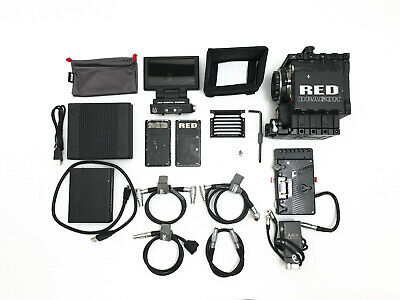 RED Epic-X Dragon 6K S35 Cinema Camera Package - PL & EF, LCD, EVF, mags, & more