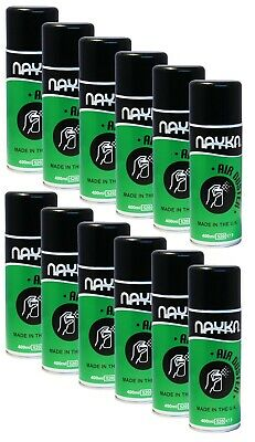 6x or 12x UK Nayka Compressed Air (400ml) – Duster/Cleaner Spray - CFC/HFC Free