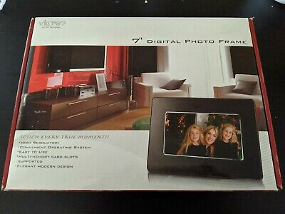 Victop Technology 7 Inch Digital Photo Picture Frame for Kodak/Canon/+ Photos!