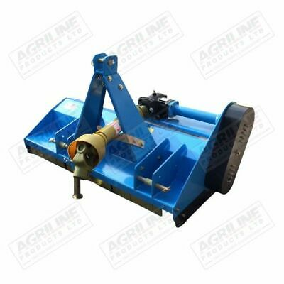 Tractor Mounted Flail Mower Topper 4ft suitable for compact tractors