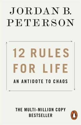 12 Rules for Life: An Antidote to Chaos by Jordan B. Peterson PAPERBACK 2019