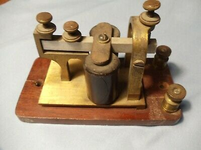 Antique Telegraph Sounder  - Tested Working Circa 1895 - Likely J H Bunnell