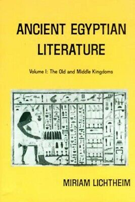 Ancient Egypt Literature I Old + Middle Kingdom Hymns Songs Coffin Texts Letters