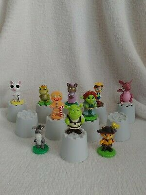 2006 Dreamworks Shrek Fairytale Friends Mini Figures Set