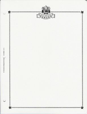 Minkus Canada 3-Ring Blank Pages (Pkg of 20) - $12.95