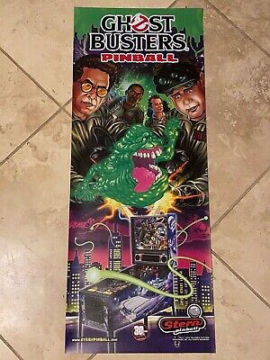 Ghostbusters Stern Pinball Vinyl Banner 13x33 Inches